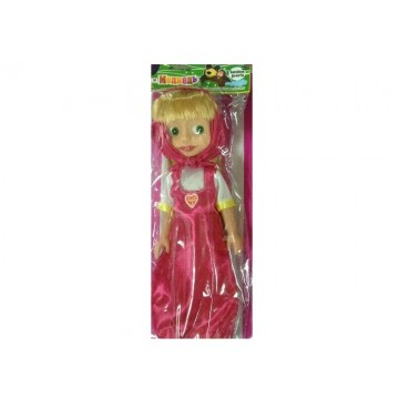 RUSSIAN DOLL WITH SOUND IN ENVELOPE 35 CM - PINK