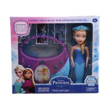 ICE PRINCESS DOLL WITH MUSIC BAG IN A BOX