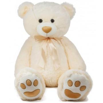 TEDDY BEAR WITH TAPE-BEIGE