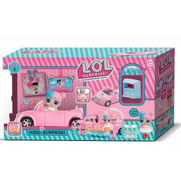 Doll L.O.L Surprise! Game set wedding travel