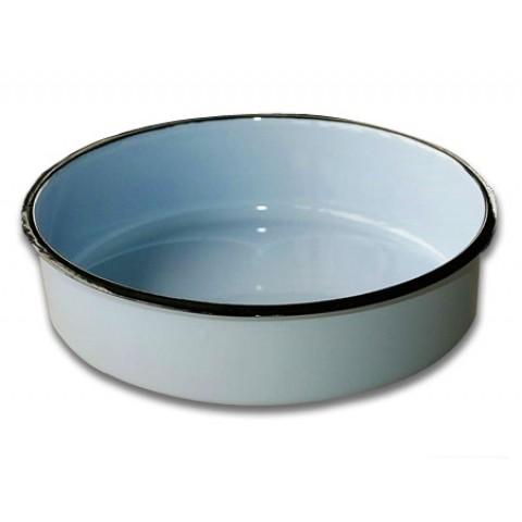deep enamel baking dish 34 sm
