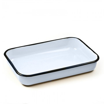 enamel square baking dish 30х18 sm