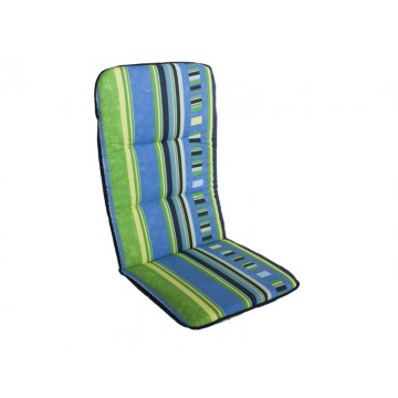 MULTIALTA - Outdoor Sunbed Cushion 115x50-cm Blue yellow