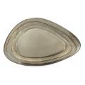 ANTIQUE-GREY-Triangular plate 36cm