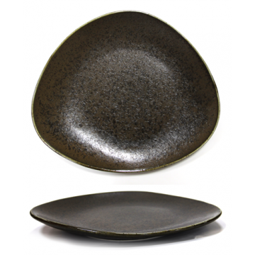 ANTIQUE-BLACK- Plate 21cm