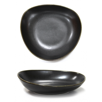 ANTIQUE-BLACK- Deep plate 28cm