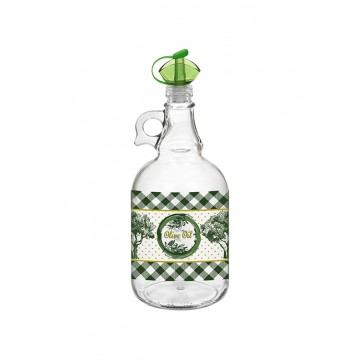 Decorated Oil Bottle MARIUS - 1 lt