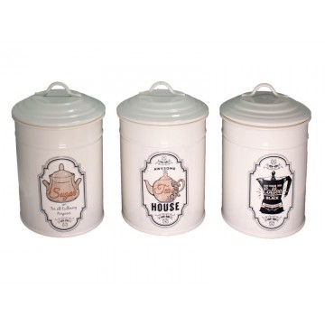 FERONYA-Metal container for spices CREAM 1pc.