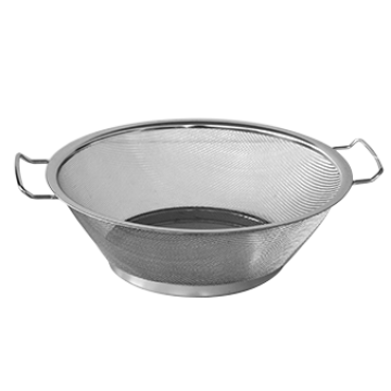 Round strainer with two handles - F25 cm