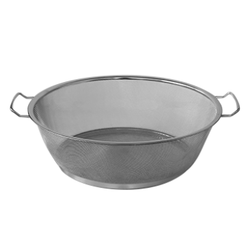 Round strainer with two handles - F40 cm