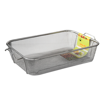 Strainer rectangular deep - 42x30.5x9.5 cm