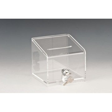 Acrylic box for tips with key
