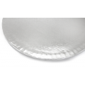 BAKERY - Round cake stand for single use 35cm SILVER