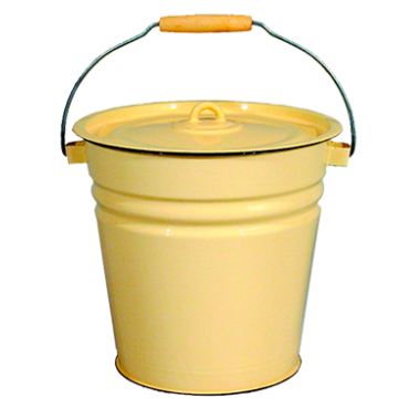 Bucket with lid 12 lt.