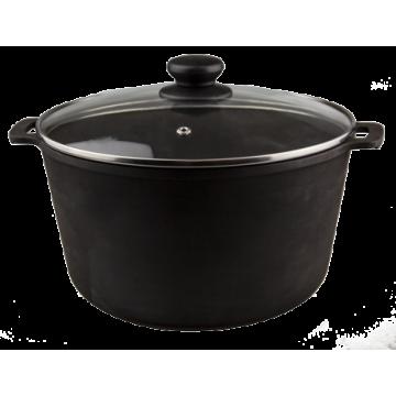 Cast Iron Pot with Glass lid T403C3