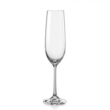 CRYSTALEX - VIOLA Champagne glass 190 ml