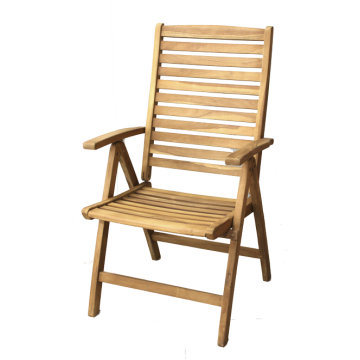 Chair with armrest - VIENA