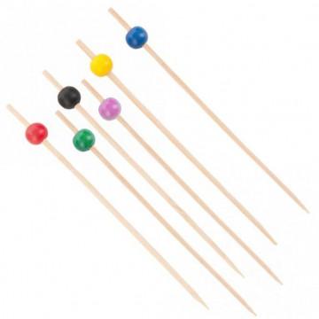 Bamboo chopsticks for bites 12 cm - 50 pcs