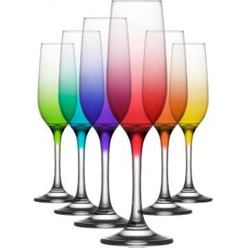 ART FAME - Champagne glass 6 pcs. 220 cc