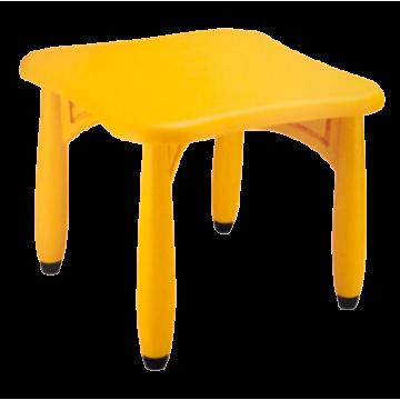 CHILDREN'S PLASTIC TABLE 62x62x52cm