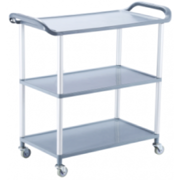 Cart on three stages GREY 50*31.5*70cm