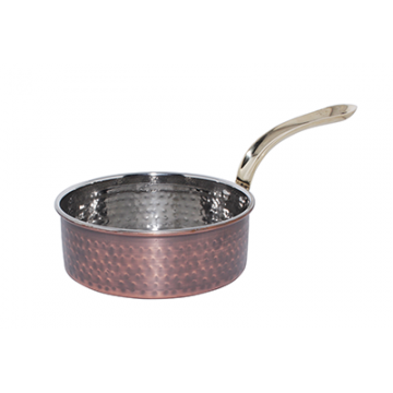 ANTIQUE - Heavy Sauce Pan with long handle - 600 ml