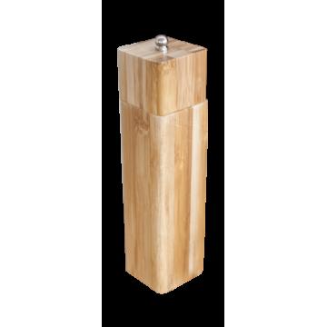 Bamboo black pepper mill 15,5cm