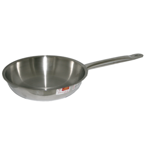Stainless Steel Single Handle Frying Pan 28 cm
