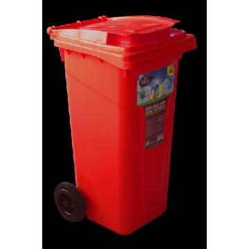 plastic trash bin 120 l