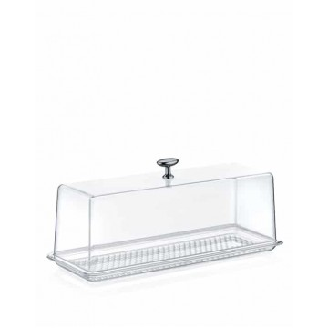 ACRYLIC Tray with lid-N2