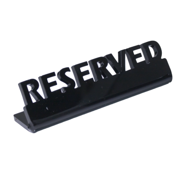 Acrylic Plate RESERVE 13cm