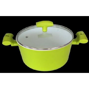 Pot GRAMMY 24 sm green