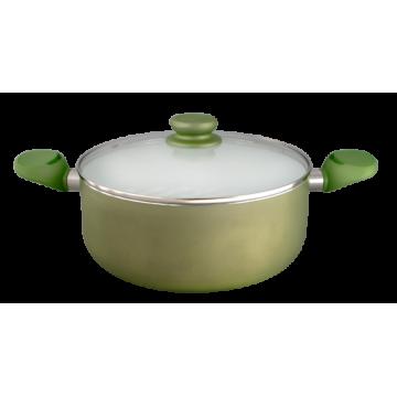 pot TANGO 24 cm green