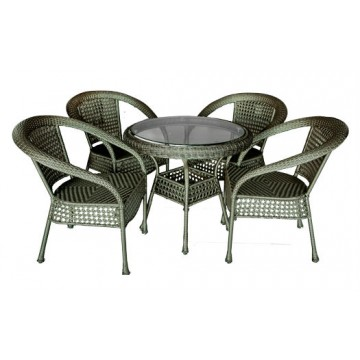 garden set from artificial rattan SAMOA