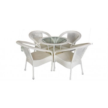 garden set from artificial rattan SIENA