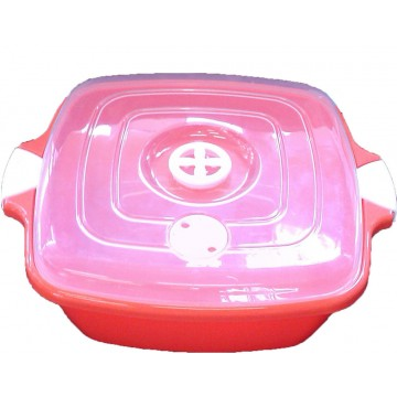 Square Saucepan with Lock 3,4 Lt