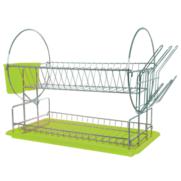 Stand dishes on 2 fl. with dashboards - green
