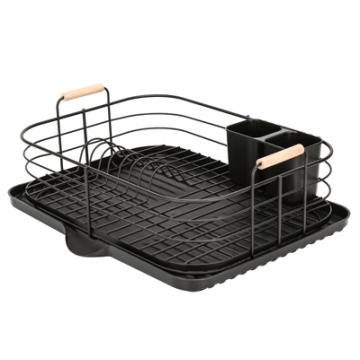 MATT BLACK-Dish rack 46 cm