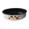 Round baking dish with decoration 36 cm