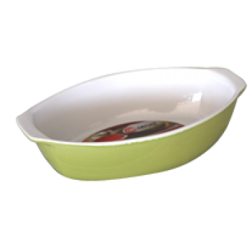 Oval baking dish with handles 34x21x7.5 cm