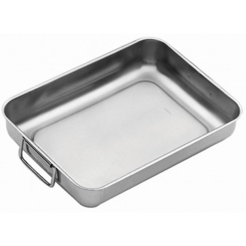 Deep cooking tray with handles 35cm