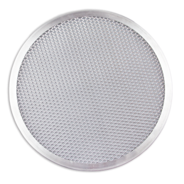 Aluminum perforated pizza Ø28cm