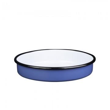 Enamel tray - Metalac CLASSIC BLUE 34 cm