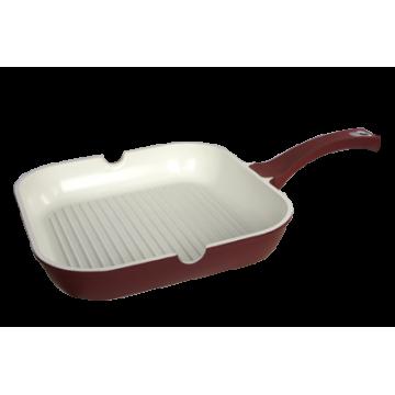 ceramic pan - grill 24х24 cm