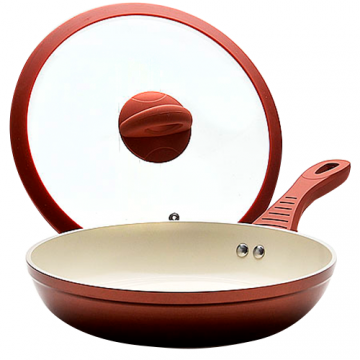 ceramic pan with lid MAYER and BOCH 22cm