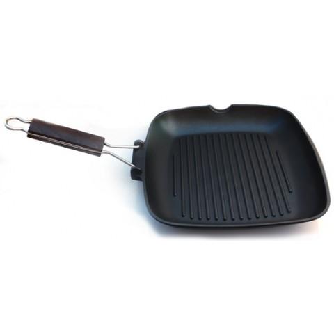 teflon pan - grill 24х24 cm