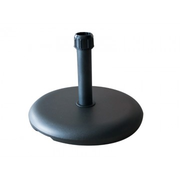 Umbrella stand - 25kg. black