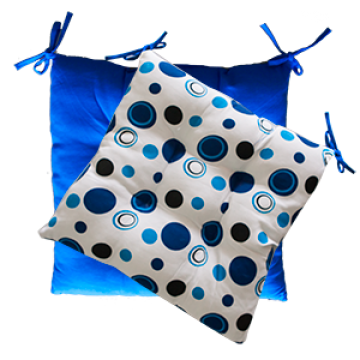 Pillow - BLUE WITH DOTS