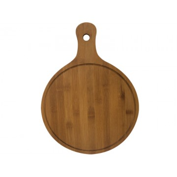 Wooden pizza board with handle 32cm